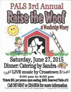 Raise The Woof - 2015