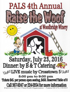 Raise The Woof - 2016